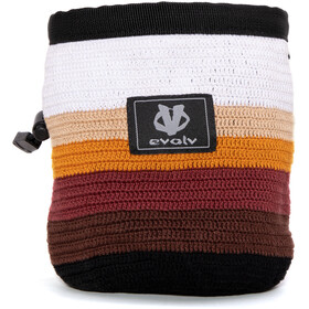 Evolv Knit Chalk Bag, latte